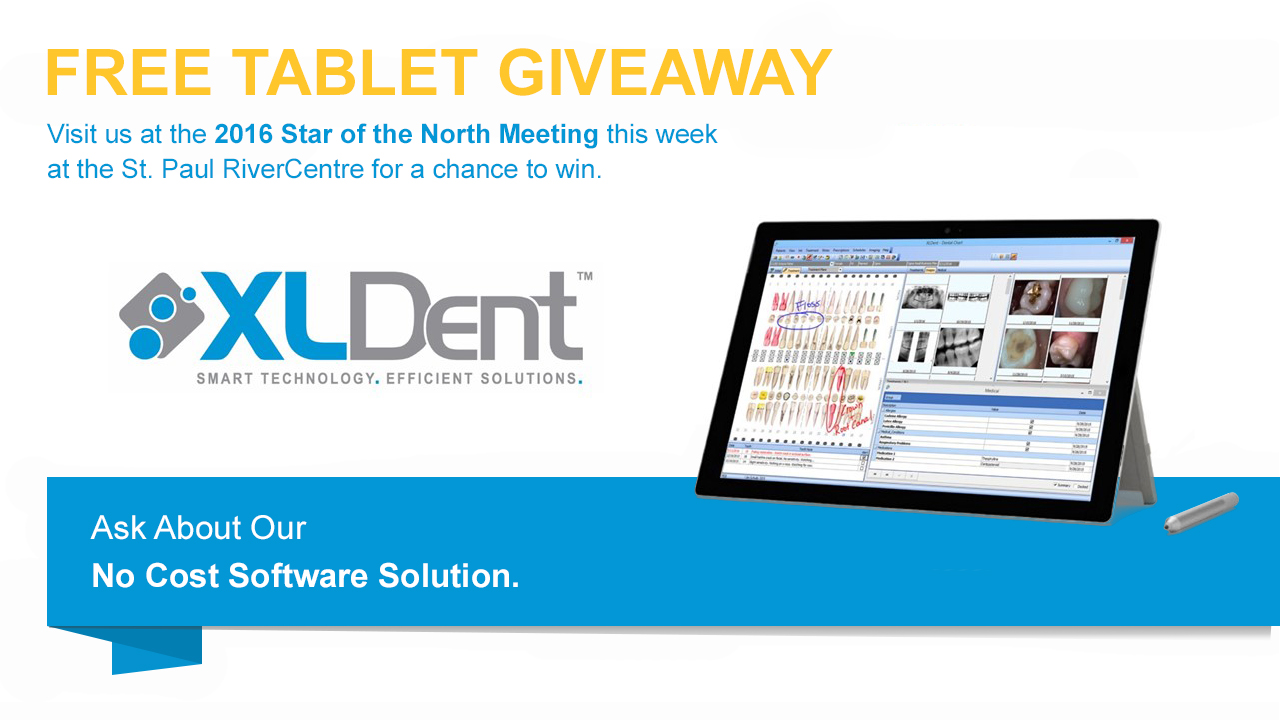 2016 Star of the North Meeting, XLDent Dental Software